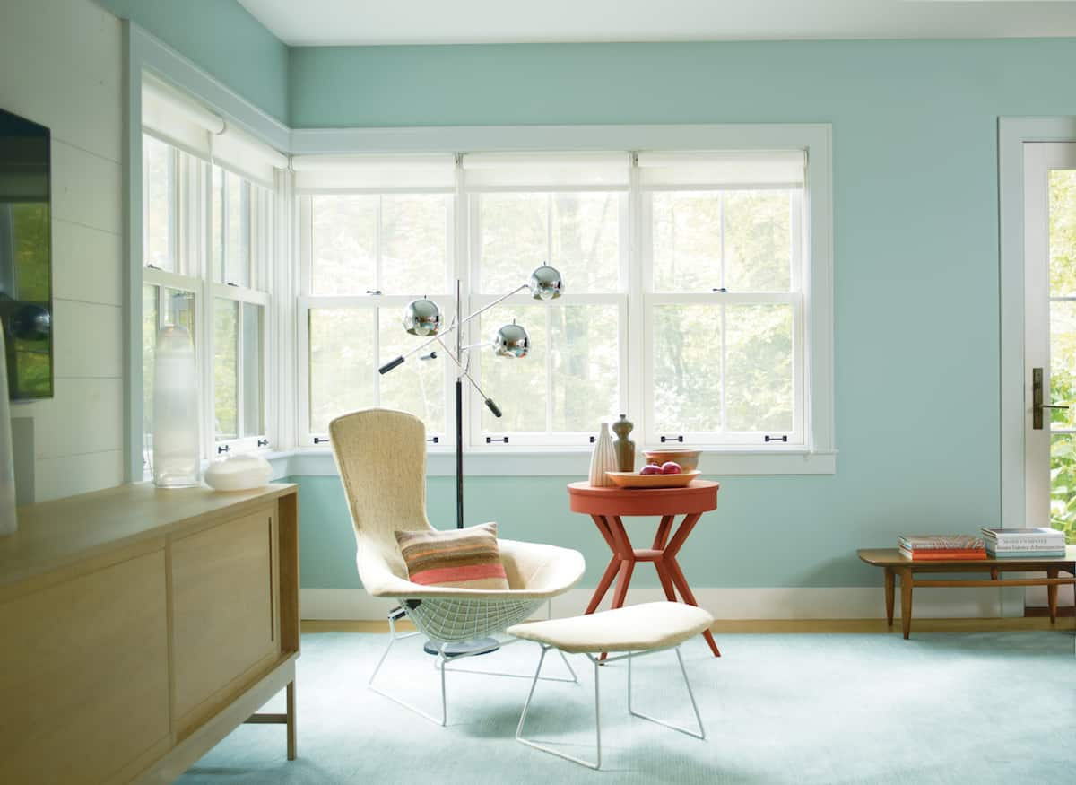 Wythe Blue Sherwin Williams The 5 Most Popular Interior Paint Colors Angies List