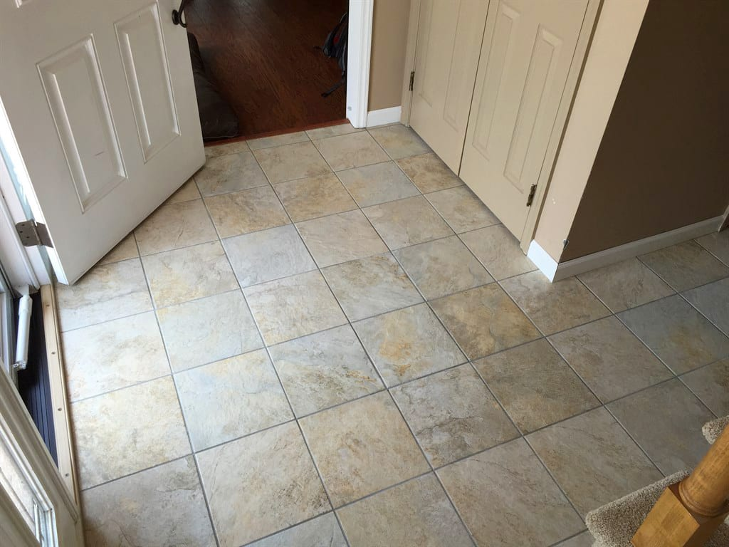 How much does it cost to buy and install ceramic tile angies list square tile in entryway dailygadgetfo Image collections