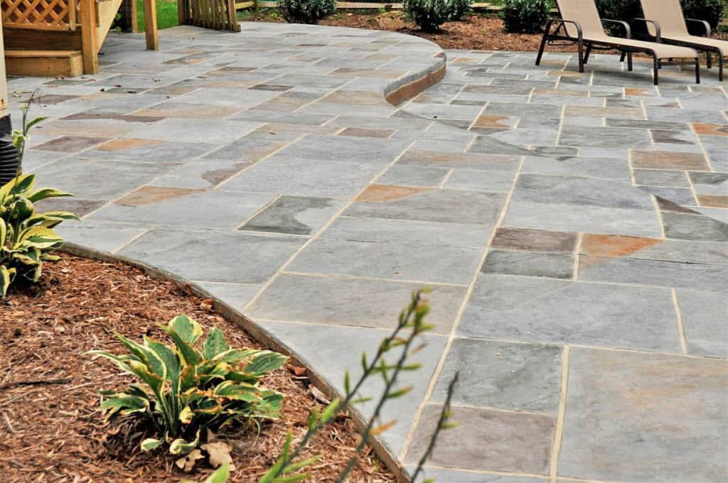 Stamped Concrete Patio : Our best knoxville stamped concrete contractors angie