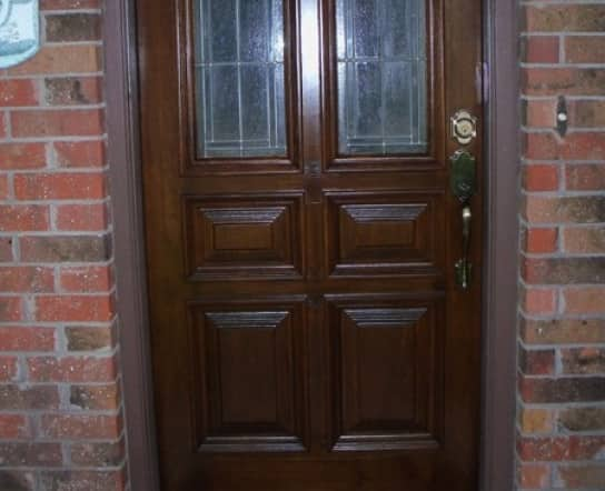 Houston Member Opens Up About Refinished Front Door