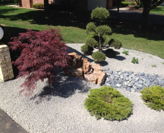 Landscaper Helps Create A Modern Zen Garden Oasis In Suburban Chicago