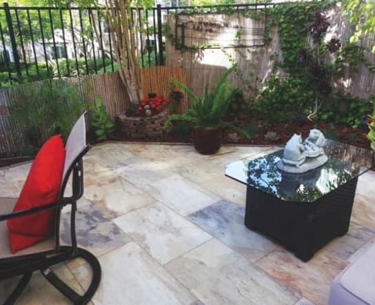 tile patio