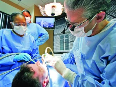 dental extraction, implant, dentures