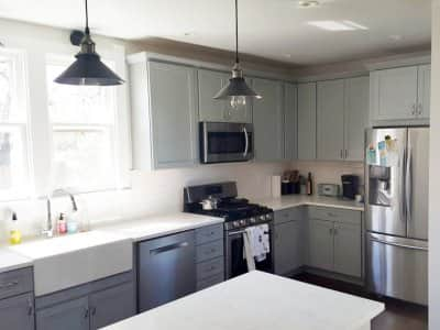 Gray Cabinets are the New White . & Top 10 Best Tucson AZ Cabinet Makers | Angieu0027s List