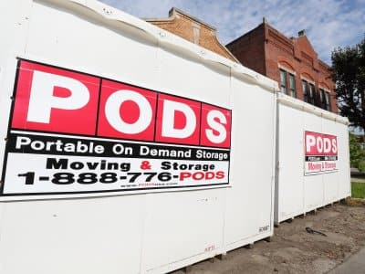 PODS portable storage units