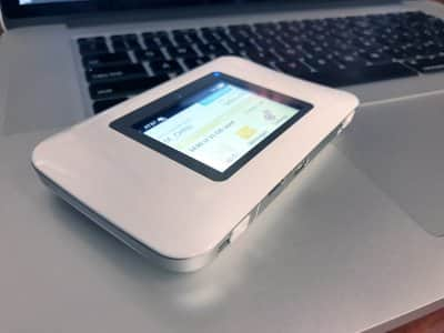 A Netgear personal Wi-Fi hotspot sold by AT&T