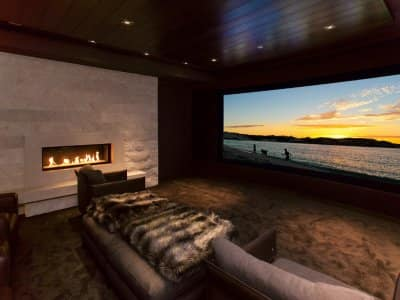 automated TV room