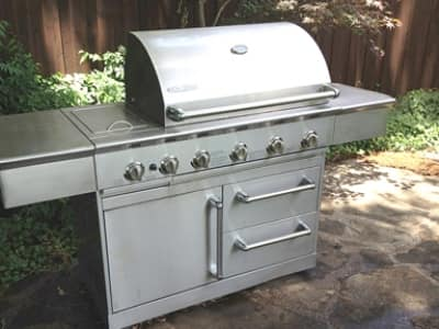 prepping gas grill for winter
