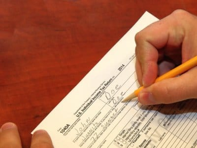 tax preparation forms