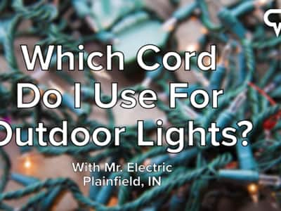Which Cord Do I Use For Outdoor Lights