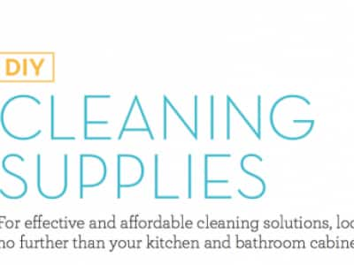 Make Your Own Cleaning Supplies!
