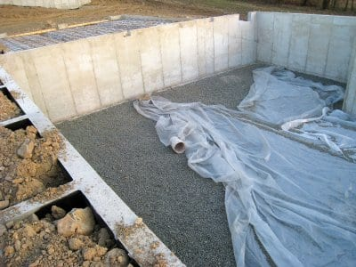 basement foundation concrete walls