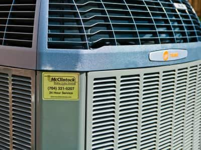 HVAC air conditioning unit