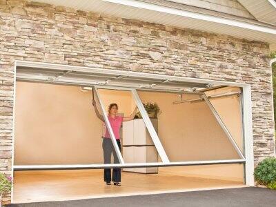 Consider Installing A Garage Door Screen .