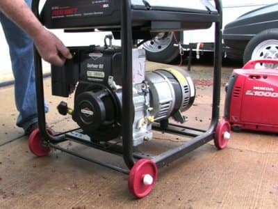 portable electric power generator