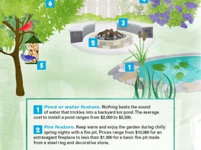 Infographic: Transform your backyard into a tranquility garden. Angie's List