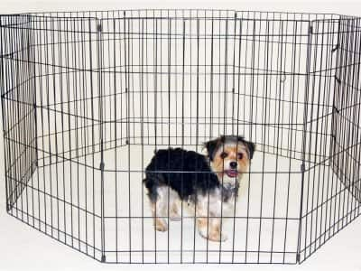 portable pet fence and playpen