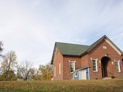 schoolhouse, remodel, architect, brick building