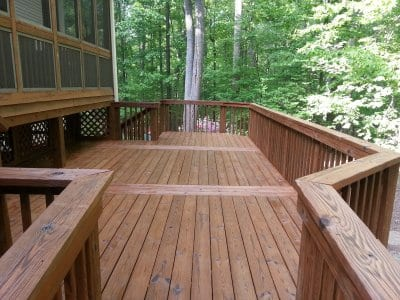 Don T Clean Your Wood Deck With Bleach