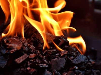 starting fire