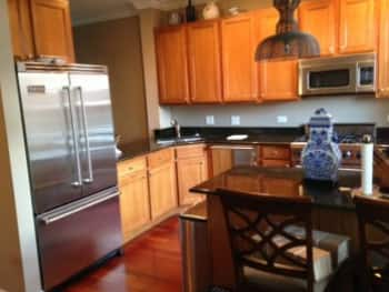 kitchen cabinet painting chicago chicago homeowner paints kitchen cabinets for fresh new 19258