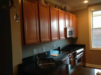Chicago Homeowner Paints Kitchen Cabinets For Fresh New Look. 1 / 4