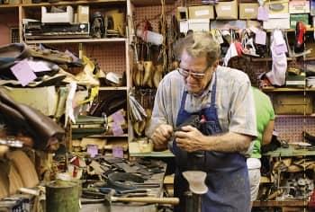 shoe repair cobbler