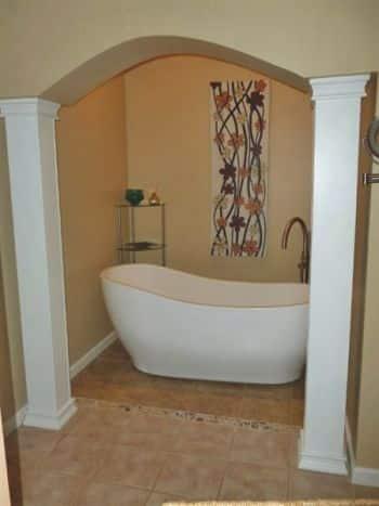 Bathroom remodel lights up room angie 39 s list - Angie s list bathroom remodeling ...