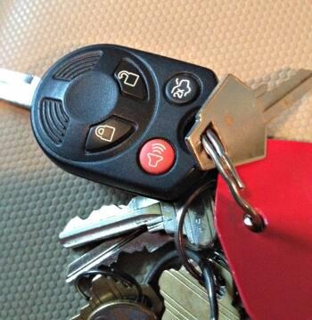 d.c. car alarm