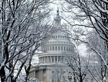 snow on capitol