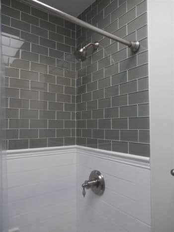 Remodeling Bathroom List bathroom remodeling job included wall repair and cabinet building