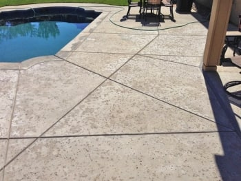 sacramento-area concrete company saves homeowner money on pool