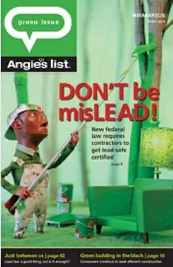New lead paint certification   Angie's List