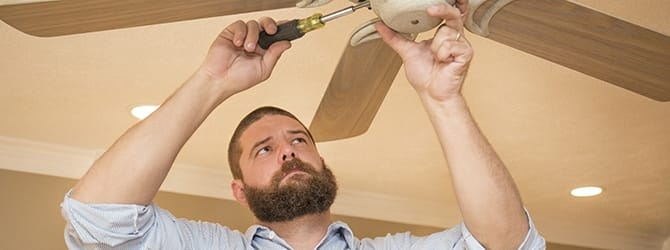 How to install a fan