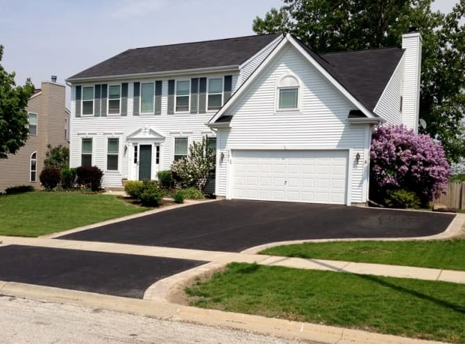 Asphalt Driveway With Extra Parking Space Angie S List