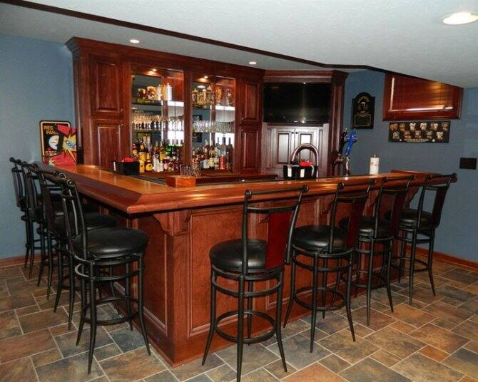 Basement Bar Area Angie S List