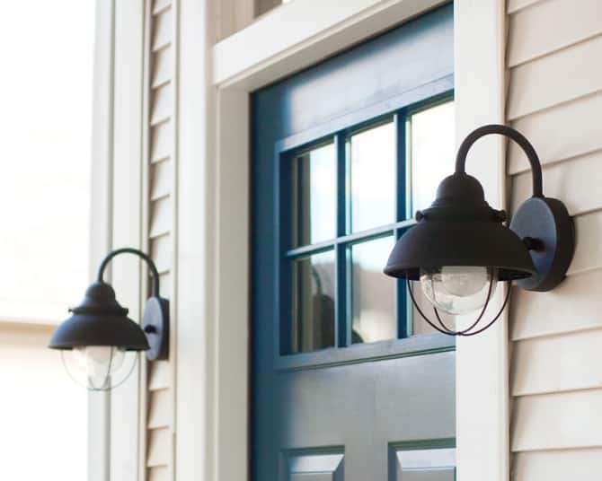 Exterior Wall Lights Installation : How To Install an Exterior Lighting Fixture Angie s List