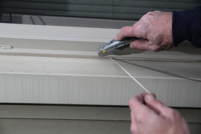 removing old caulk