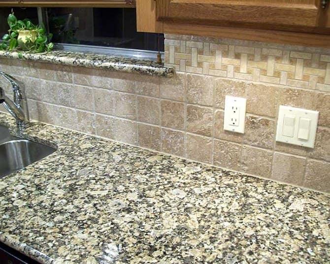 Kitchen Backsplash with Travertine Tiles | Angie\'s List