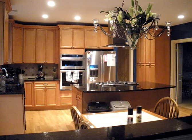 Detailed kitchen remodel with new cabinets angie 39 s list for Kitchen design 70115