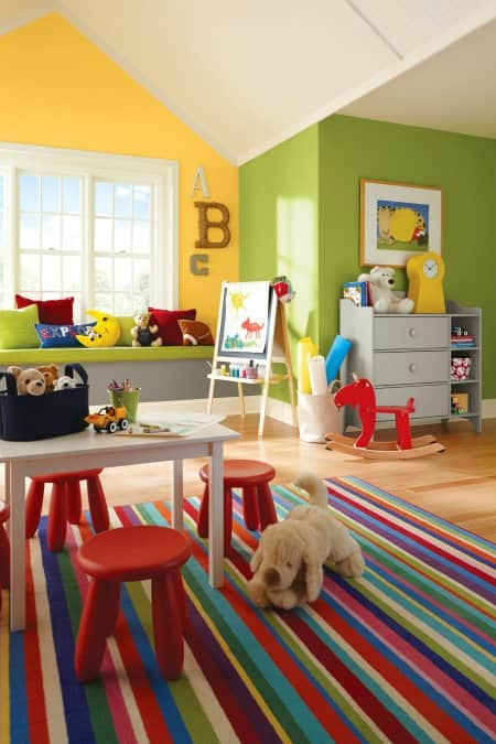Kids Play Room Design: Paint Ideas For A Perfect Playroom