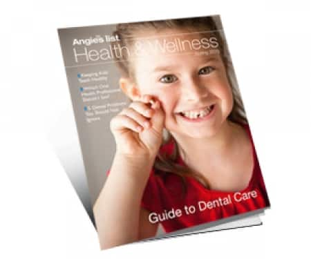 Angie's List downloadable Guide to Dental Care