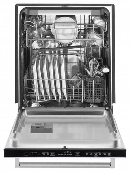 Dishwasher Review: KitchenAid 24-Inch Built-In Dishwasher in ...