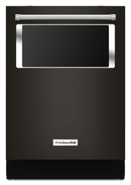 Dishwasher review kitchenaid 24 inch built in dishwasher with window and lighted interior - Kitchenaid dishwasher not cleaning top rack ...