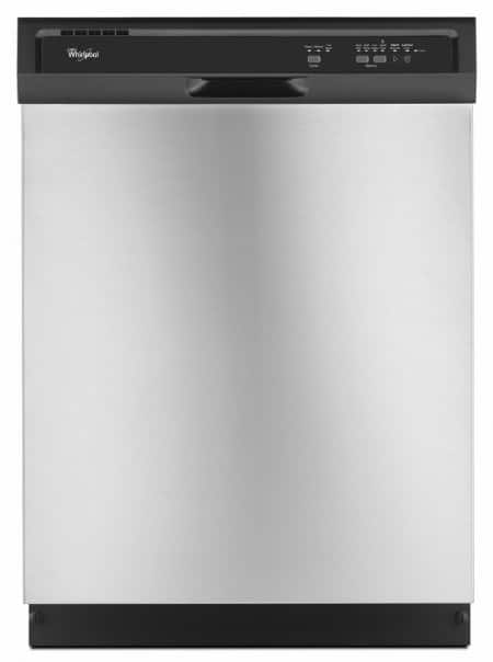 Ordinaire Front Shot Of A Whirlpool WDF320PADS Dishwasher