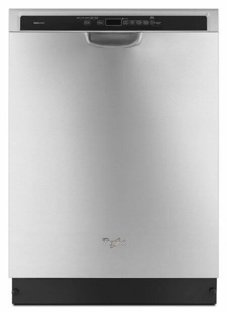 Whirlpool monochromatic stainless steel dishwasher (WDF760SADM)