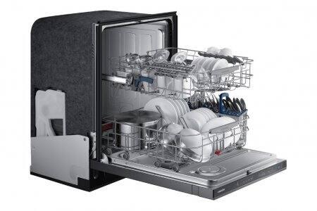 Samsung Top Control Dishwasher w/ WaterWall Technology DW80J7550US