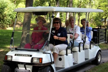 If you enjoy activities and opportunities to be involved, chances are you'll relish the opportunities available at a senior community, says Pangborn. (Photo courtesy of Three Pillars Senior Living Communities)