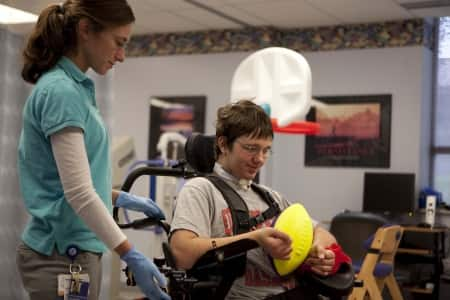 traumatic brain injury therapy at Cincinnati Children's Hospital