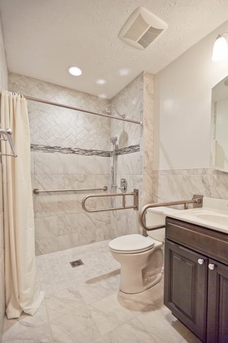 handicap bathroom design universal design boosts bathroom accessibility angie s list 8037